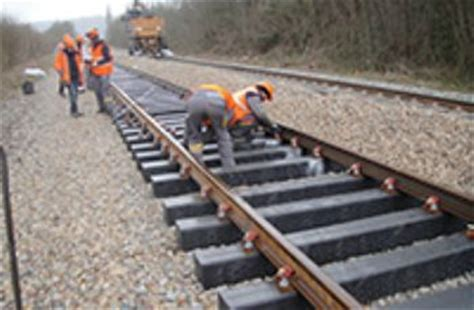 recycled plastic railway sleepers machinery market news