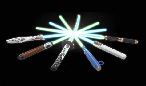 wars light sabers wars lightsabers reimagined by iconic designers
