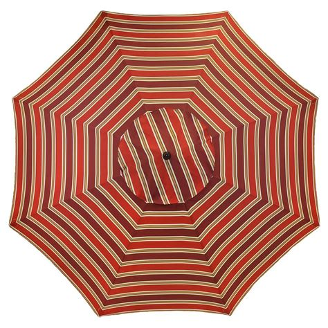 pattern market umbrella plantation patterns 11 ft aluminum patio umbrella in