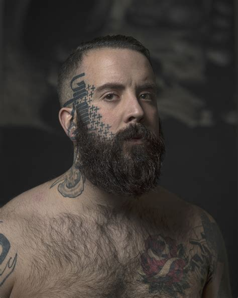 face tattoos for men striking photos of inked individuals who proudly don