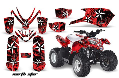 Quad Aufkleber Kit by Atv Quad Graphic Sticker Kit For Polaris Predator 50