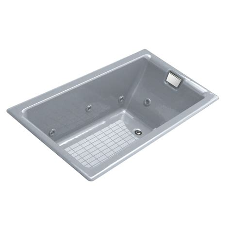 cast iron whirlpool bathtubs shop kohler cast iron rectangular whirlpool tub common 36 in x 66 in actual 24 in