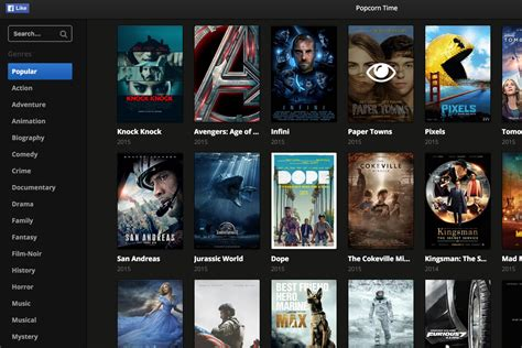 film streaming platforms popcorn time for your browser makes illegal movie