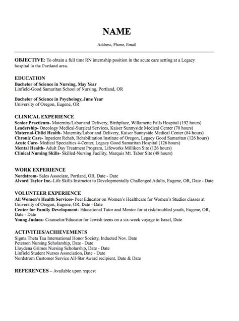 Resume Oncology 925 Best Exle Resume Cv Images On