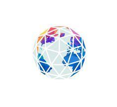 globe tattoo logo polar bear geometric vector by fv21 illustrations