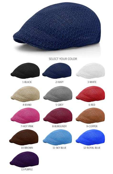 cool mesh summer gatsby cap mens hat golf driving sun