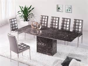 Grey Marble Dining Table Zeus Brown Grey Marble Extending Dining Table And 6 D215