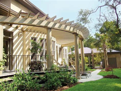 Benefits Pergola Attached To Front Of House Garden Landscape Pergola Attached To House