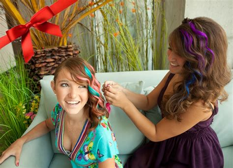 color hair extensions colored hair extensions