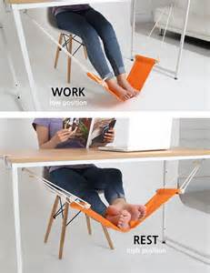 desk hammock is a comfy suspended spot for your