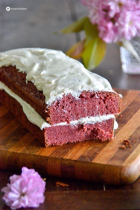 topping kuchen velvet cake mit mascarpone sahne topping