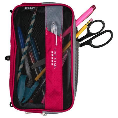Pencil Pouch 7 6 pack pouch colored pouch pencil pouch binder pouch