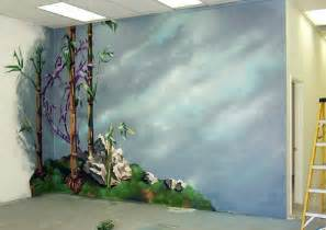 painted wall murals mural wall 3d wall art bamboo ideas mural ideas living room design and decorating with art painting