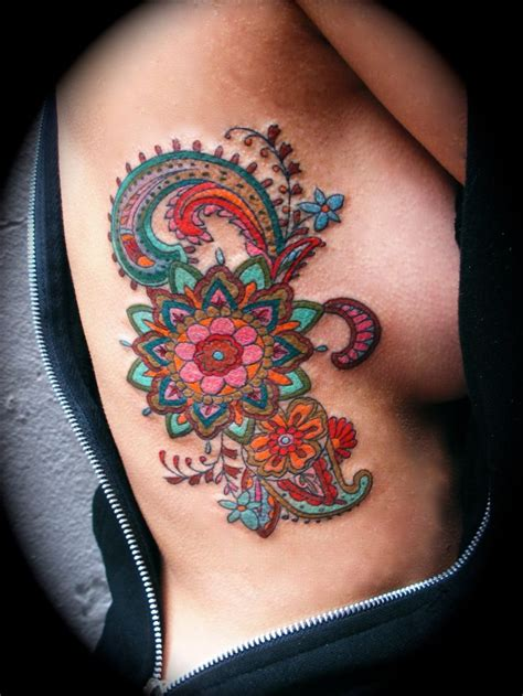colorful henna tattoos 25 best ideas about paisley bird tattoos on