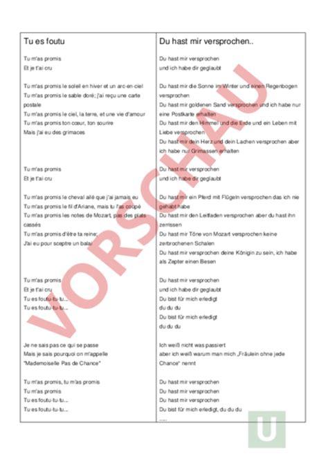Musterbrief Angebot Französisch Www Unterrichtsmaterial Ch Franz 195 182 Sisch Grammatik Tu Es Foutu 195 œbung Pass 195 169 Compos 195