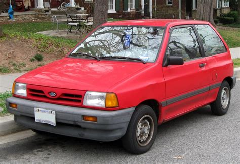 old car owners manuals 1992 ford festiva seat position control 1990 ford festiva information and photos zombiedrive