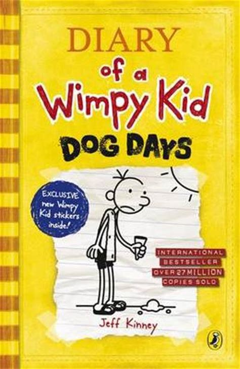 libro diary of a wimpy diary of a wimpy kid dog days jeff kinney comprar libro en fnac es