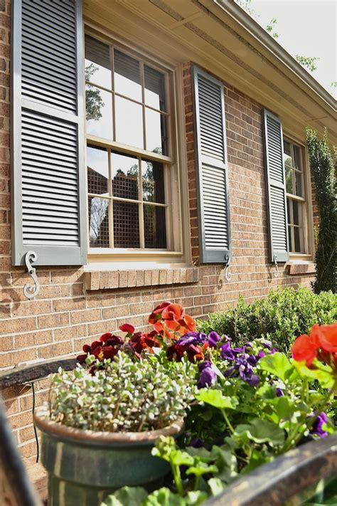 Painting Shutters And Front Door Transform Shutters With Front Door Paint Modern Masters Cafe