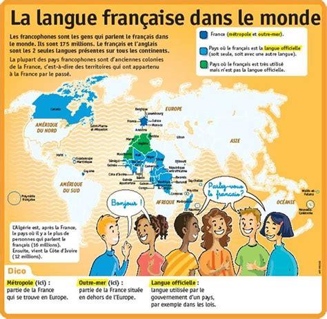 le francais dans tous 2757859994 17 best images about francophonie on language