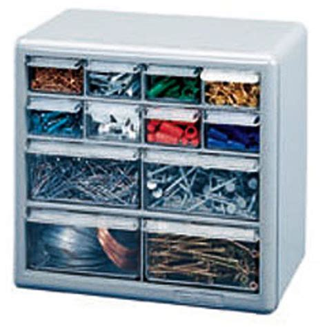 stack on 12 drawer storage cabinet silver gray walmart