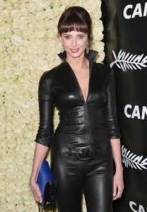 bel in fr 233 d 233 rique bel in leather 2015 cannes festival