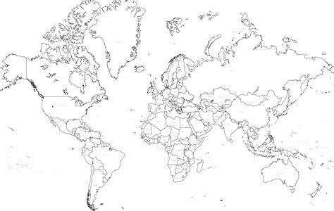world map black and white hd wallpapers free