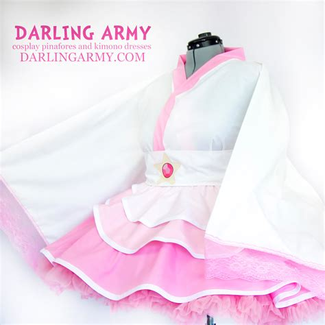 pattern for rose quartz dress rose quartz steven universe cosplay kimono dress by