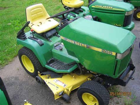 Mcminnville Lawn And Garden by Deere 265 Lawn Garden And Commercial Mowing
