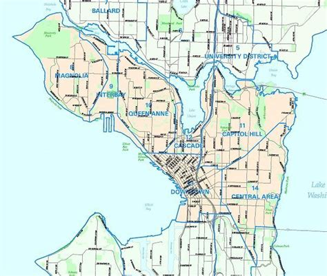 seattle map with zip codes map of seattle zip codes swimnova