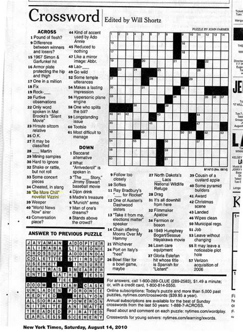 sunday times crossword section september 2013 birdsoup