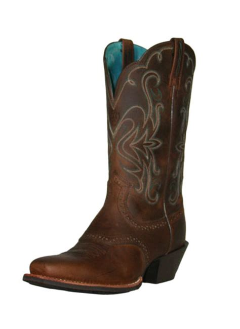 womans ariat boots ariat s legend boots distressed brown