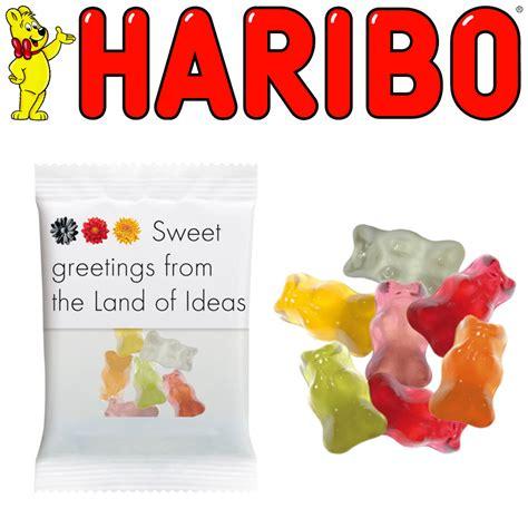 personalised haribo gummy bags medium branded