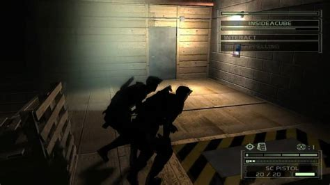 pc coop splinter cell chaos theory pc co op gameplay hd