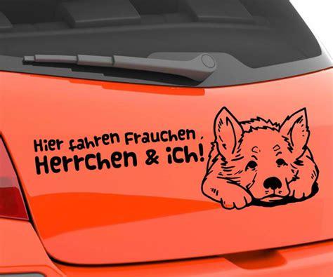 Autoaufkleber Spr Che Englisch by Autoaufkleber Hund Sch 228 Ferhund German Shepherd Spruch Hier