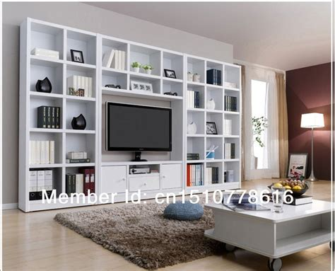 Tv Bookshelves Combination Bookcase Tv Cabinet Brief Bookshelf Tv Cabinet