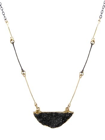 Steals Deals 15 Peggy Li Jewelry by Black Drusy Necklace Necklaces Handmade Jewelry By