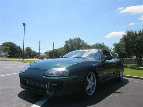 1998 Toyota Supra Turbo For Sale 1998 Toyota Supra Turbo For Sale From Florida Miami