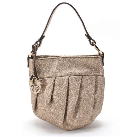 The Fendi Evening Bag by 79 Fendi Handbags Fendi Metallic Evening Bag From
