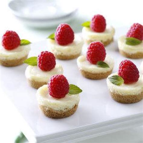 berry mini cheesecakes recipe just a pinch recipes