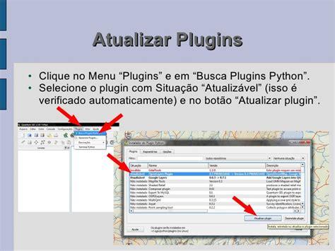 tutorial de qgis 2 12 tutorial 2a instala 231 227 o de plugins do qgis v3