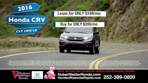 Hubert Vester Honda by Hubert Vester Honda Test Drive A Crv Today