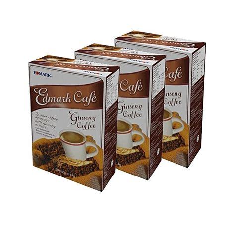 Coffee Korean Ginseng edmark korean ginseng coffee 20 sachets pack of 3 buy jumia nigeria