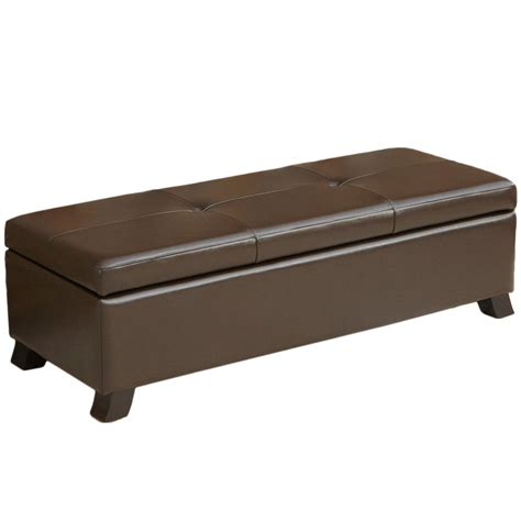 bed end storage ottoman end of bed storage benches ottomans and chests s place