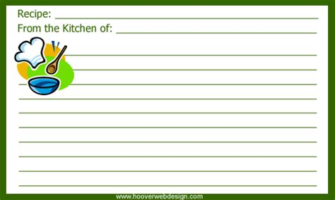 clipart recipe cards png  cliparts    hddfhm