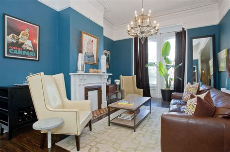 blue and brown living rooms 20 blue and brown living room designs decorating ideas
