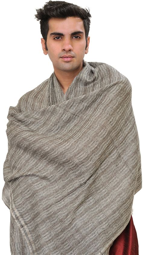 grey thread to weave hairgrey thread to weave hair gray cashmere men s scarf from nepal with thread weave