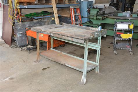 lyon work bench heavy duty industrial work bench workbench table 60x29x36