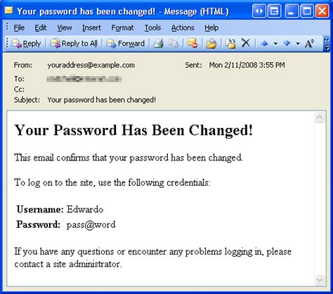 password change email template recovering and changing passwords c the asp net site