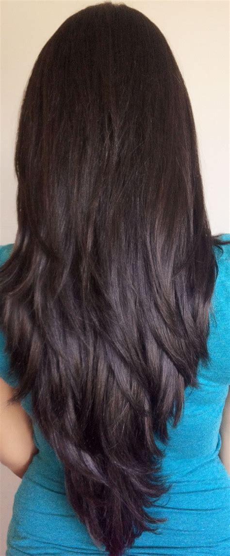 vs layered layered v haircut