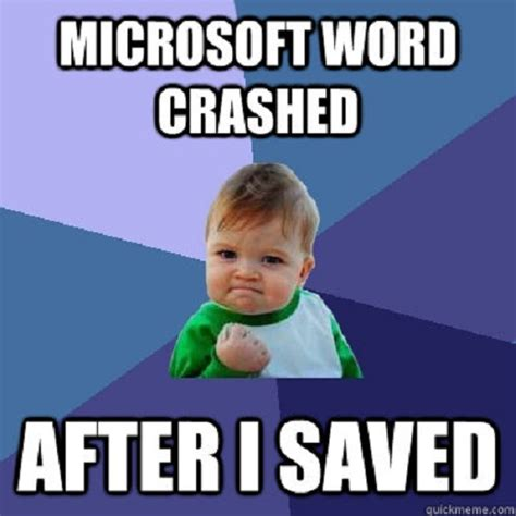 Microsoft Word Meme - our favorite microsoft memes page 2 techrepublic